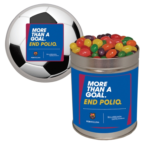 Item #QT204-JELLY Quart Tin Jelly Beans Candy