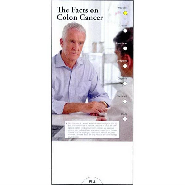 Item #PG-1065 The Facts on Colon Cancer Slide Chart