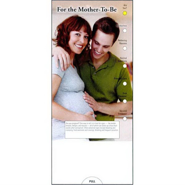 Item #PG-1095 For the Mother-To-Be Slide Chart