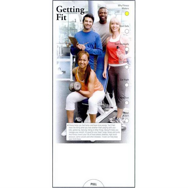 Item #PG-1120 Getting Fit Slide Chart