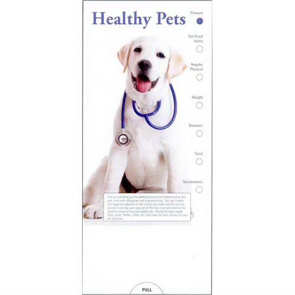 Item #PG-1190 Healthy Pets Slide Chart