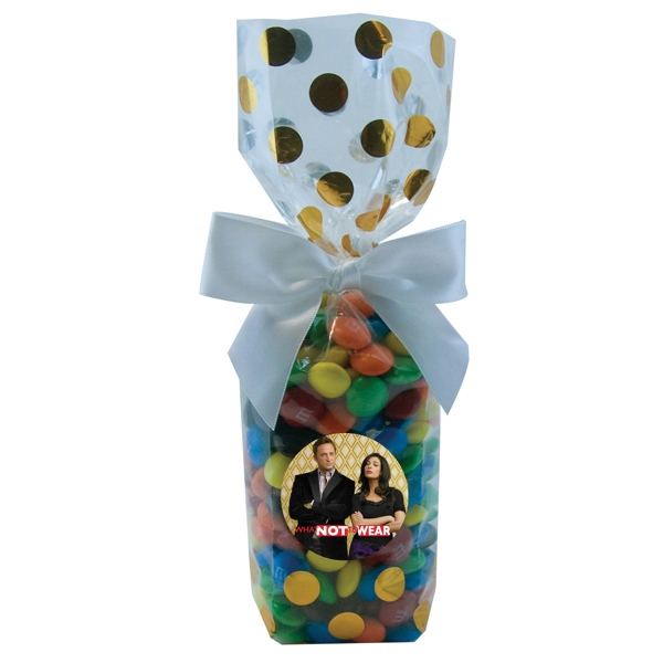 Item #MS22-MM's Mug Stuffer Gift Bag with Compare to M&M(r) candy