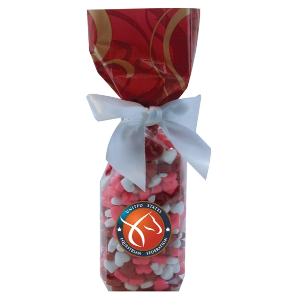 Item #MS22-HEARTS Mug Stuffer Gift Bag with Candy Hearts