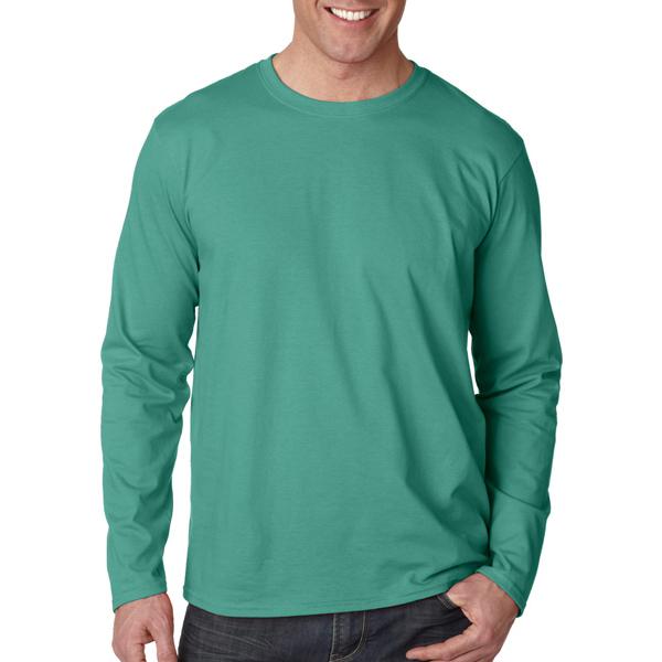 Gildan softstyle r adult long sleeve t shirt item for Custom printed long sleeve t shirts