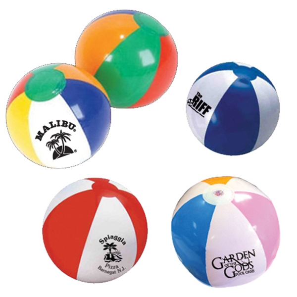 "Item #BEACH BALL 623 Beach Ball, inflatable, Large 20"" - E623"