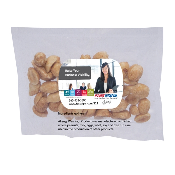 Item #LPP21-PEANUT Large Promo Candy Pack with Peanuts Snack