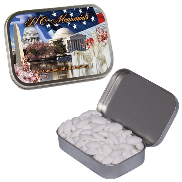 Item #CAFFEINE-MINTS Caffeinated Mint Tin filled with Caffeinated Mints