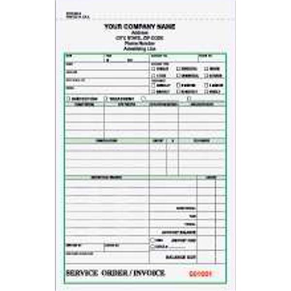 Item Pccc 880 3 Pest Control Service Order Invoice Form