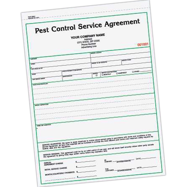 Pest Control In Boutte Mail: Pest Control Service Agreement Form