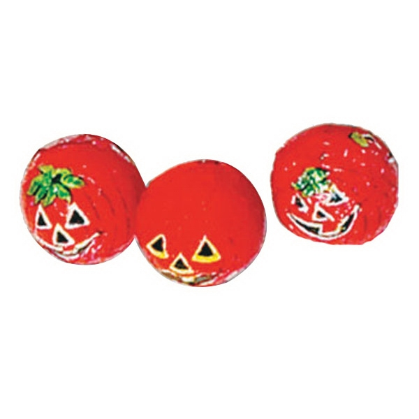 Item #Halloween Ball Halloween Chocolate Foil Pumpkins