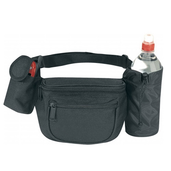 Item #B-8826 Four Pocket Sports Fanny Pack