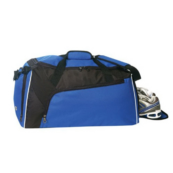 Item #B-8978 Poly Deluxe Duffel Bag
