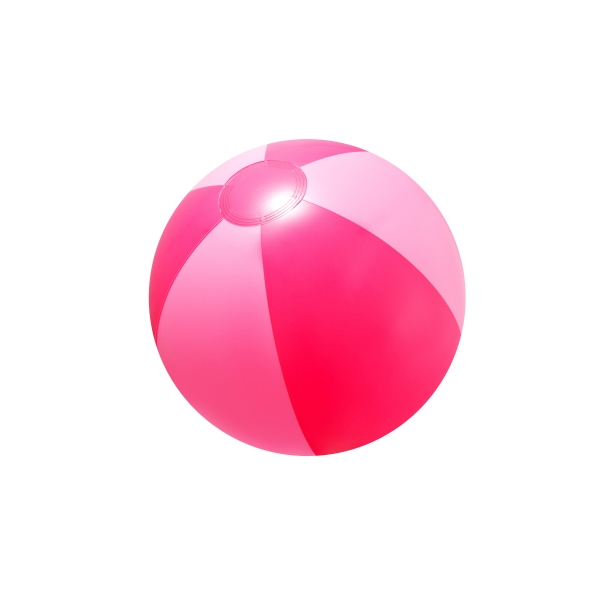 "Item #AB-2272 16"" Inflatable Pink Double Shaded Beach Ball"