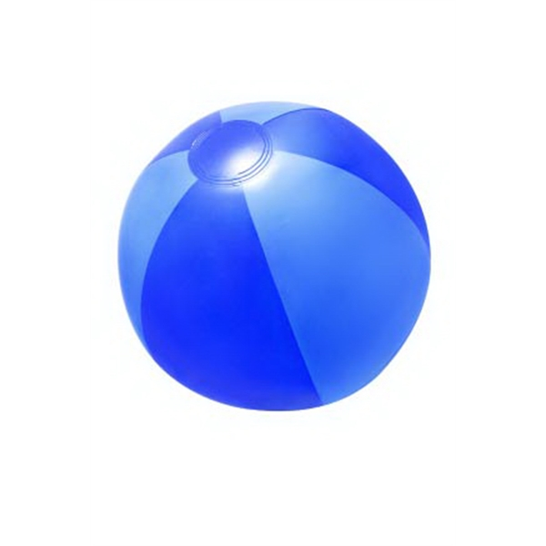 "Item #AB-2274 16"" Inflatable Blue Double Shaded Beach Ball"
