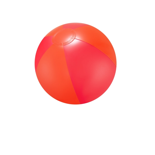 "Item #AB-2275 16"" Inflatable Red Double Shaded Beach Ball"