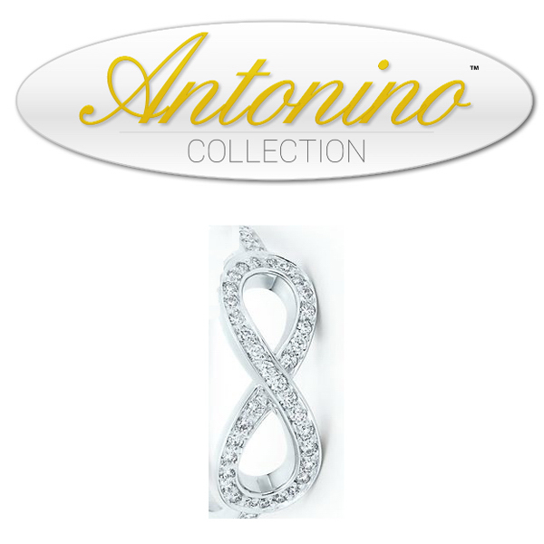 Item #NY IFRG Infinity diamond ring