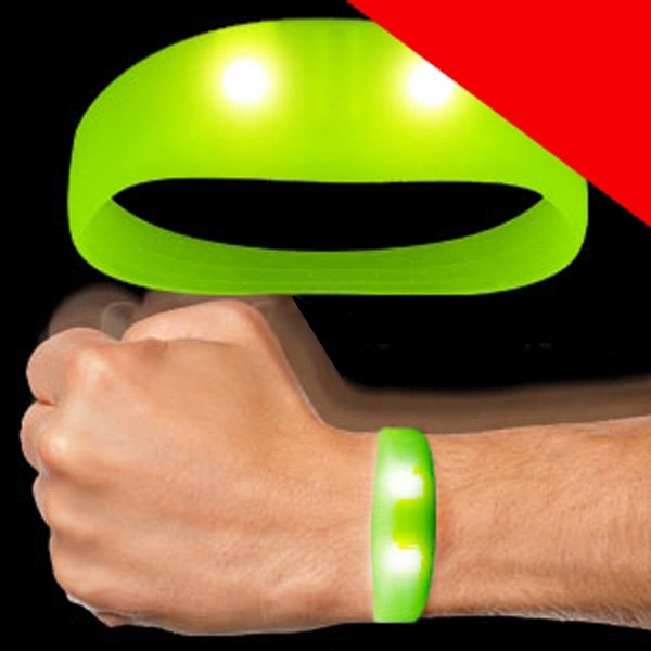 LED Motion Activated Wristbands Light Up