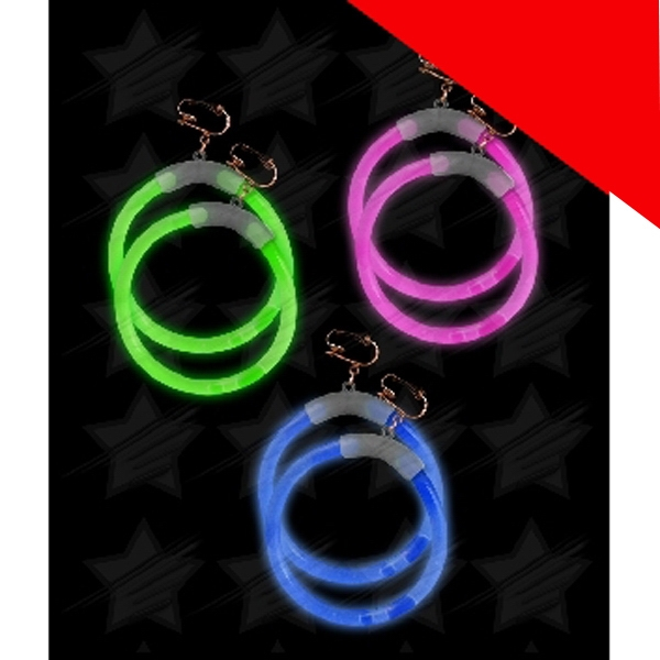 Item #G712 Glow Earrings - Assorted Light Up
