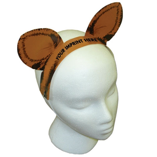 Item #K8 Tiger Ears with Elastic Band