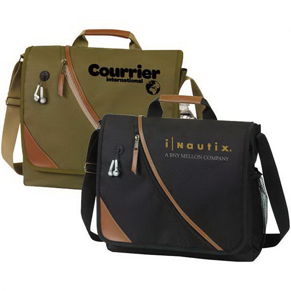 Item #AT865 San Bruno Executive Messenger Bag