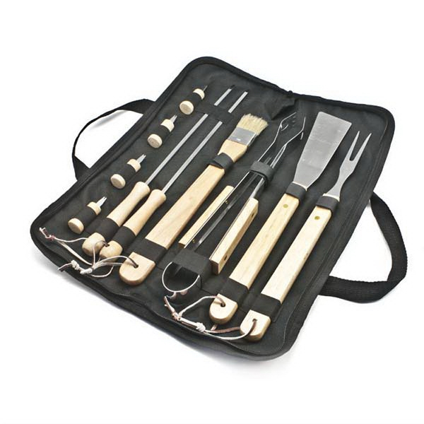 Item #BBQ11 11 pc BBQ Tool Set