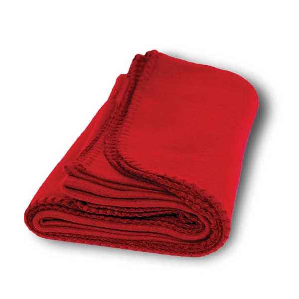 Item #BK711_Blank Ridgewood - Plush Polar Fleece Blanket