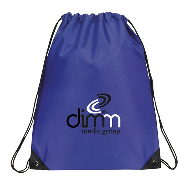 Item #DB125 Davie Econo Drawstring Backpack