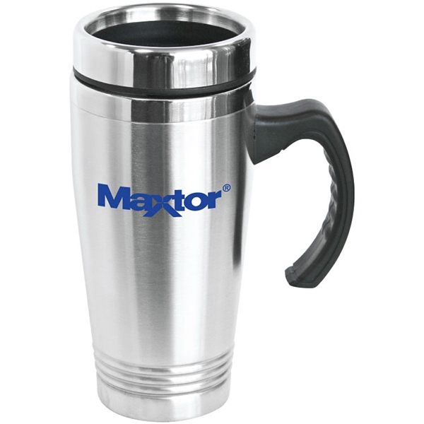 Item #SM210 Napa - 16 oz Stainless Steel Travel Mug