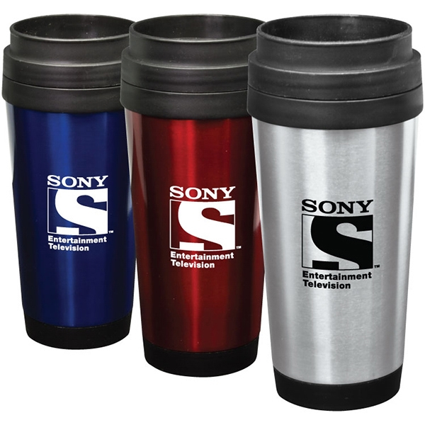 Item #SM350 Taft - 14 oz Stainless Steel Tumbler