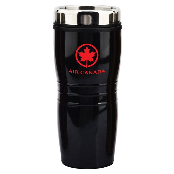 Item #SM435 Sanger - 16 oz Metallic Tumbler