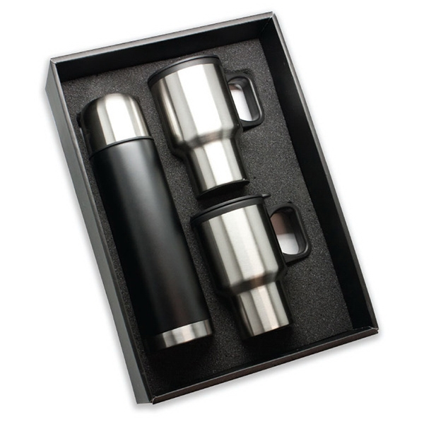 Item #SM580 Deluxe Three Piece Drinkware Set