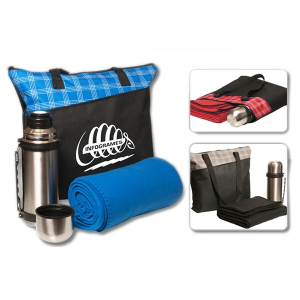 "Item #ST300 3 pc ""Stay-Warm"" Travel Tote Set"