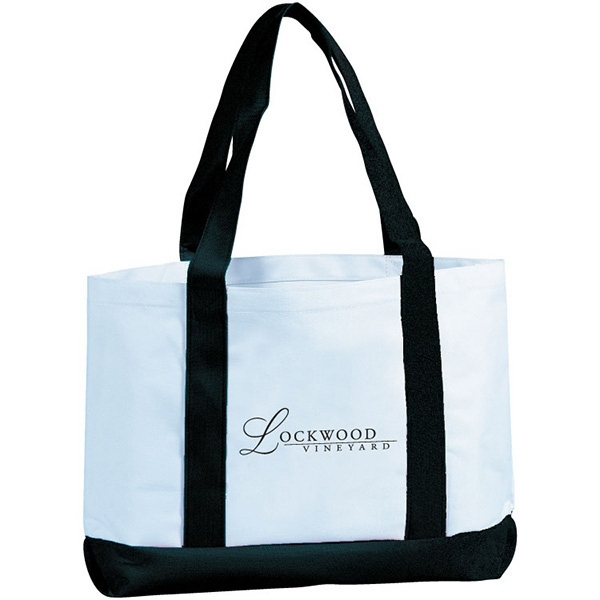 Item #TB114 Azores Two Tone Boat Tote
