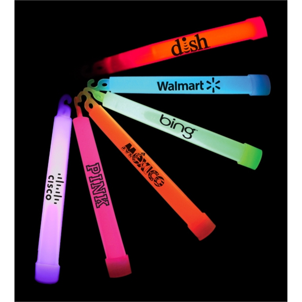 "Item #GLOW PARTY 506 Light Up 6"" Glow Stick With Lanyard - E506"