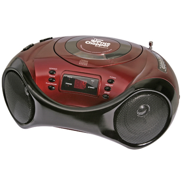 Item #AD-687 Sport design portable stereo CD player with AM/FM radio