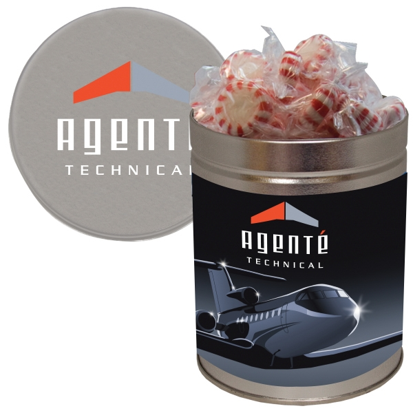 Item #QT204-STARMINT Quart Tin with Starlite Breath Mints