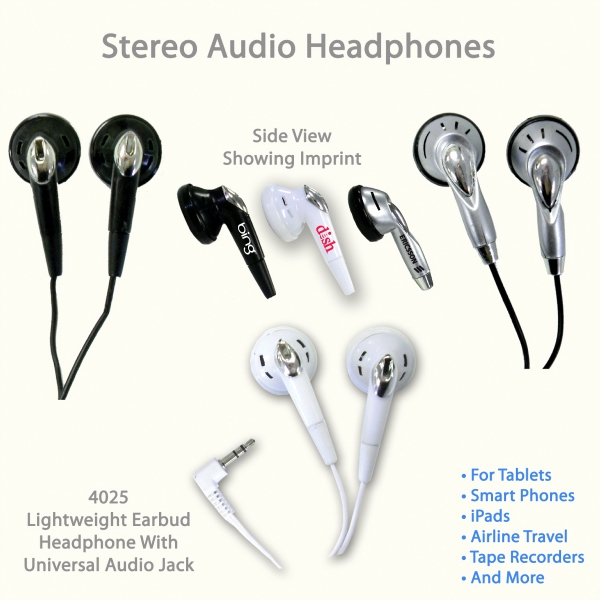 Audio Stereo Headphone 4035 & Variety
