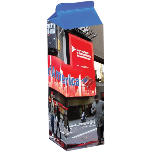 Item #MILK-BOX Milk Carton Box - Custom Packaging and Boxes