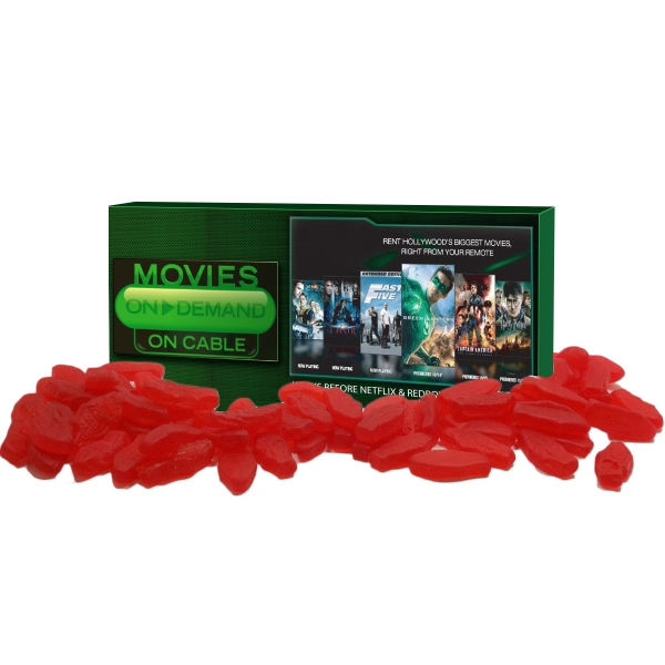Item #Z-MOVIE-FISH Movie Candy Box Filled With Swedish Fish Candy