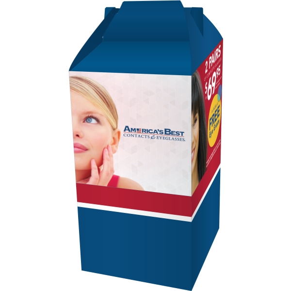 Item #GABLE-BOX Custom Gable Box - Custom Packaging and Boxes