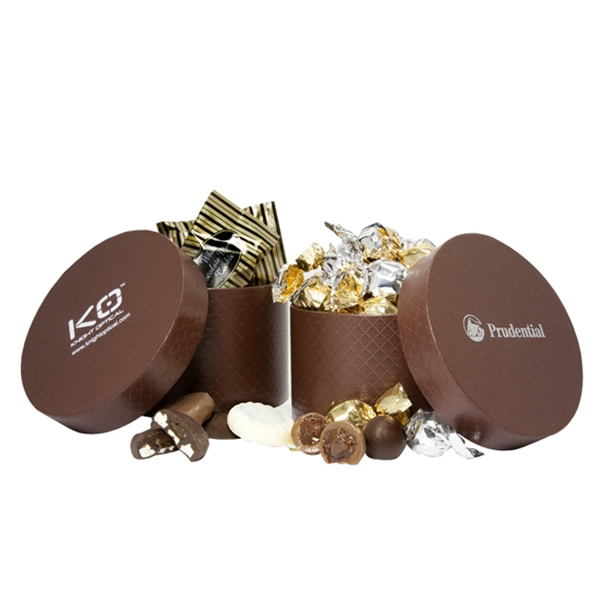 Item #SHB-CRCC Small Hat Box with Gourmet Cookies