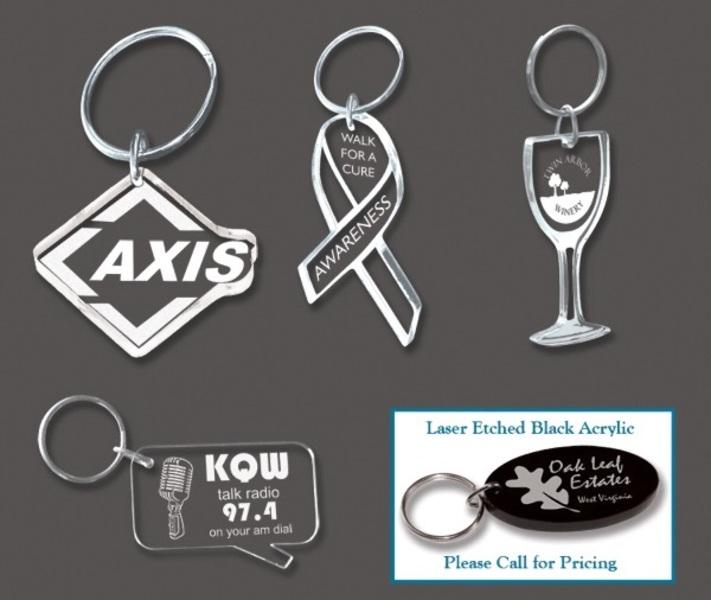 Custom Shaped Acrylic Key Tag